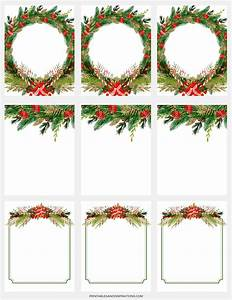 Free Digital Paper For Christmas Decorations, Gift Tags