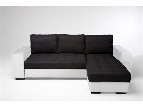 canape convertible noir et blanc canape noir et blanc conforama 28 images canap 233