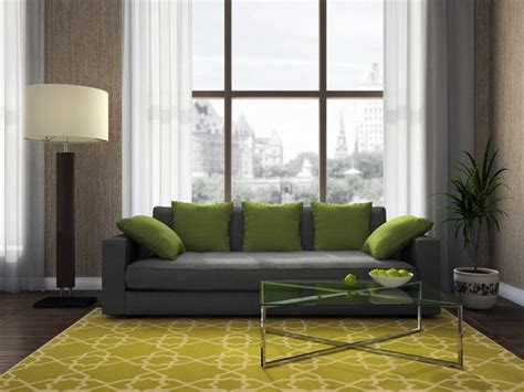 idees de salon vert entre elegance  nature