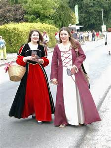 Traditional Clothing Dress in France