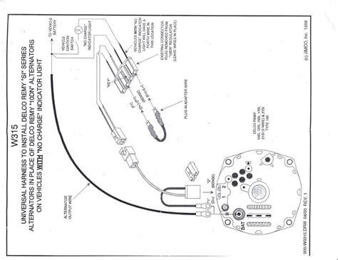 Gm Alternator To Voltage Regulator Wiring Diagram by Wrg 9914 Delco 10si Wire Diagram