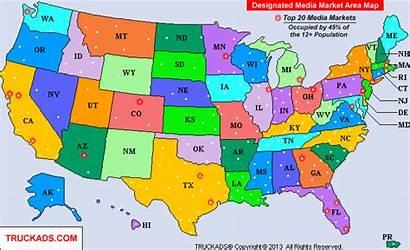 Map Market Designated Markets Maps Tv Areas
