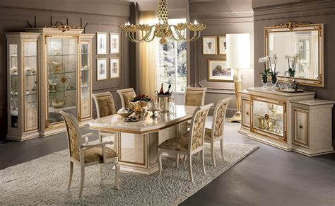 classic luxury dining room  table chairs