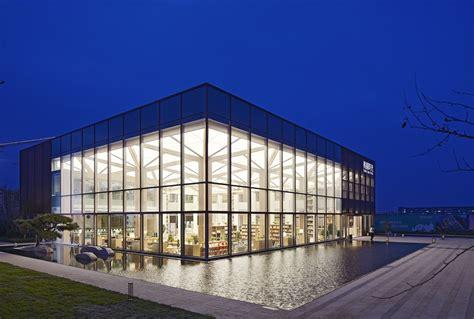 Architecture Design by Goertek Green Town Time Books Qingdao Greentown