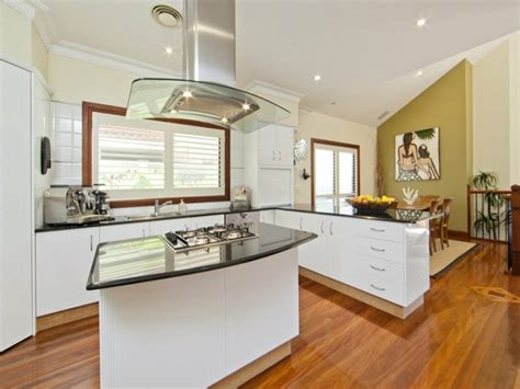 cuisine en l avec ilot central cuisine en l moderne avec îlot en 108 photos magnifiques