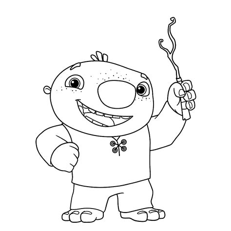 wallykazam coloring pages   print