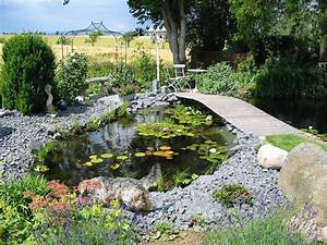 Kleiner Bachlauf Garten : teich mit bruecke ~ Michelbontemps.com Haus und Dekorationen