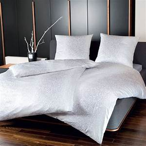 Standard Bettwäsche Größe : bettw sche janine carmen 5482 silber ~ Orissabook.com Haus und Dekorationen