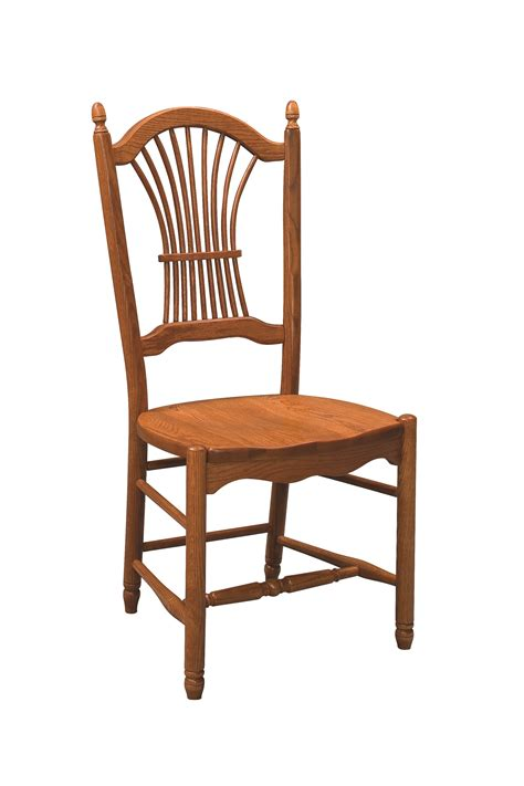 Back Chair by Sheaf Back Dining Chair