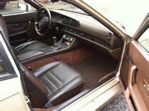 1985 Porsche 944 Interior