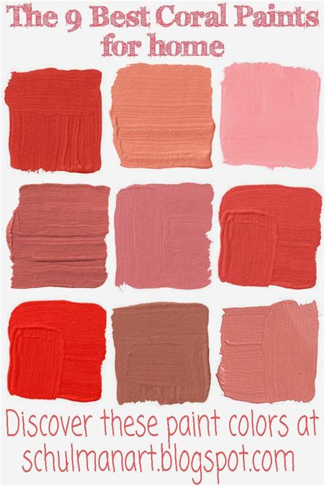 coral color discover the best coral paint colors for