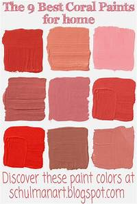 coral paint colors Pin by SchulmanArt on Decorating Ideas | Coral paint colors, Paint colors, Paint colors for home