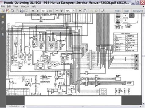 Honda Gl 1500 Wiring Diagram by My 1988 Goldwing Gl 1500 Wont Start Gl1500 Information