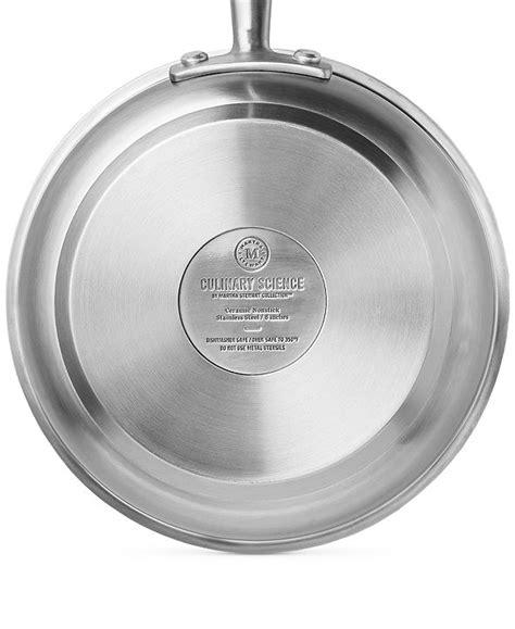 martha stewart collection  pc cookware set created  macys reviews cookware kitchen