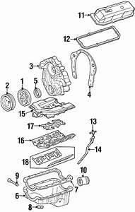 Pontiac Firebird Engine Valve Cover Gasket  3 4 Liter  3