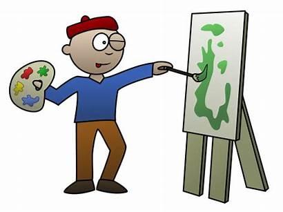 Cartoon Artist Draw Cartoons Funny Clip Drawing