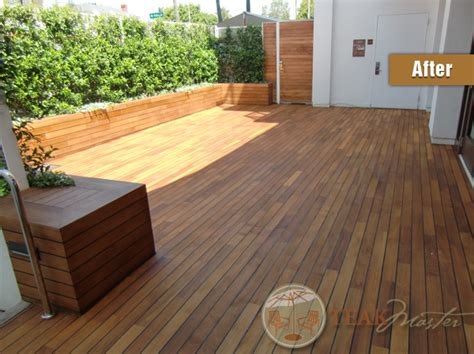 teak flooring problems cumaru deck restoration