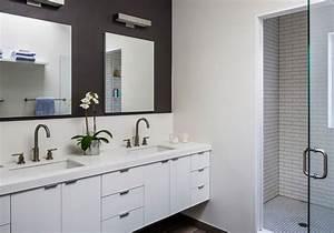 idee deco salle de bain moderne deco maison moderne With salles de bains modernes