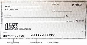 How To  Identifying Numbers On Your Check