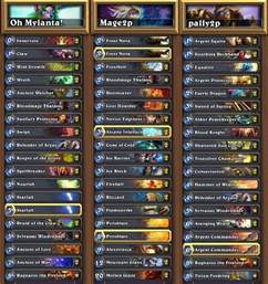 hearthstone news decklists and vods from na vs china