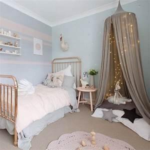 idee deco pour chambre de petite fille With chambre bleu pour fille