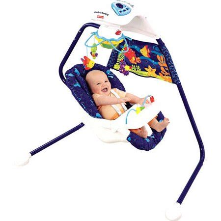 fisher price wonders swing fisher price wonders cradle swing walmart