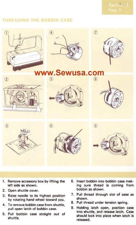 Kenmore Sewing Machine Threading Diagram Etc