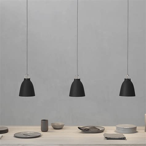 black kitchen pendant light lightyears caravaggio ler i tre nye farger 4710