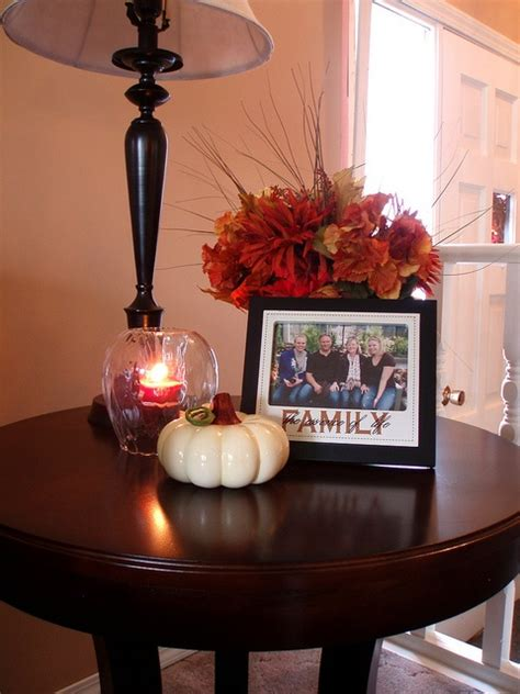 fall coffee table decor ideas digsdigs