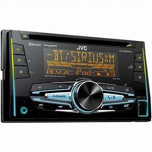 Jvc Kw  Bluetooth And Siriusxm Ready With Detachable Face At