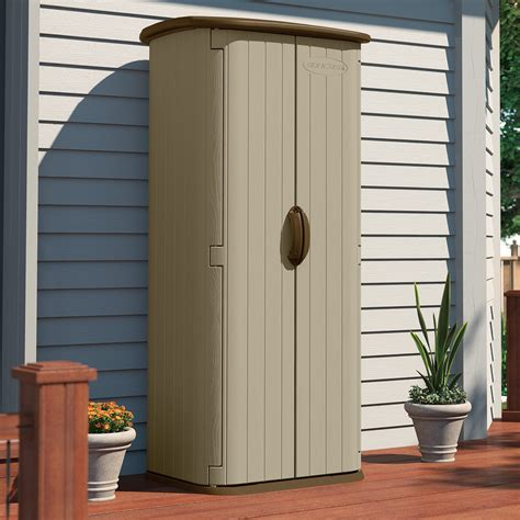 durable wall resin outdoor garden tool storage shed