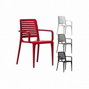 Chaise Exterieur Design : chaise d 39 ext rieur economique avec accoudoirs ~ Teatrodelosmanantiales.com Idées de Décoration
