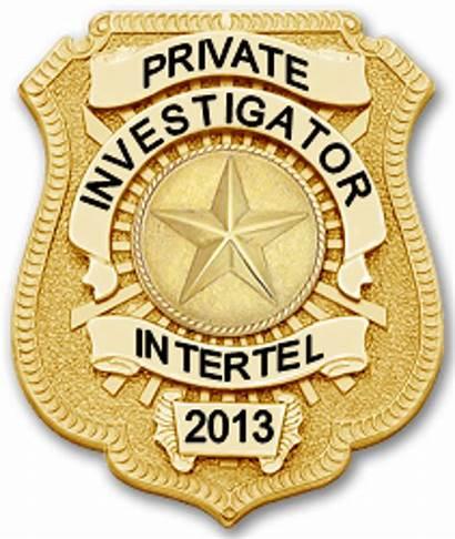 Badge Investigator Detective Private Pi Badges Nice