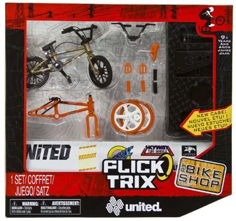 tech deck bmx bikes tricks best price united trix 4 quot bmx finger bike shop set