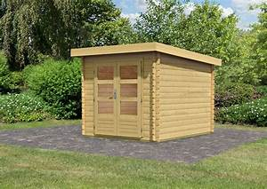 Gartenhaus 28 Mm Pultdach : woodfeeling gartenhaus pultdach bastrup 4 28 mm blockbohlen naturbelassen ~ Whattoseeinmadrid.com Haus und Dekorationen