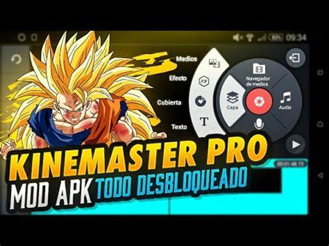 kinemaster pro mod apk capa de compatible con todos los dispositivos android