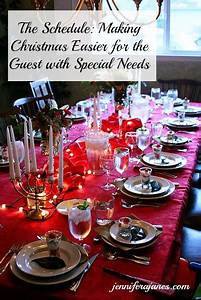 The Schedule: Making Christmas Easier for the Guest with ...