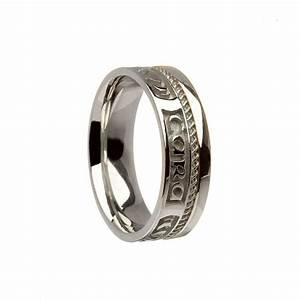 sterling silver mo anam cara wedding ring With anam cara wedding rings