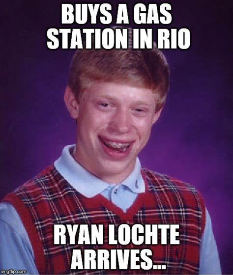 Ryan Lochte Meme - did he not know they had cctv in rio imgflip
