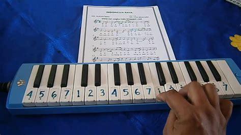 not lagu pianika ibu kita kartini indonesia raya pianika