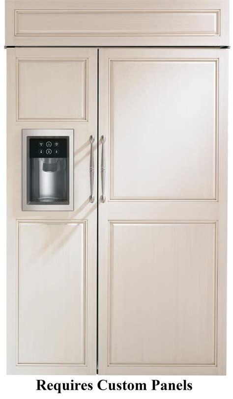 ge monogram zisbdh   counter depth side  side refrigerator   cu ft