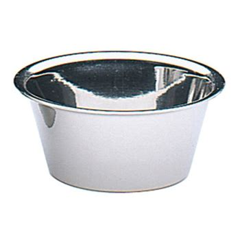 Kuchenprofi 75cm Stainless Steel Shallow Ramekin From Design2please