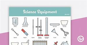 Lab Equipment Poster  U2013 Diagram With Labels Teaching