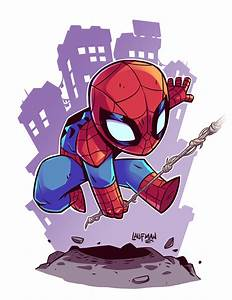 Chibi Spidey by DerekLaufman on @DeviantArt | Geek ...