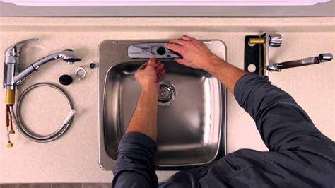 installer evier cuisine rona comment installer ou remplacer un robinet sur un
