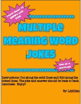homonym homophone word jokes by ldyditto teachers pay