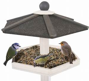 Mangeoire Oiseaux Sur Pied : mangeoire hexagonale sur pied ~ Teatrodelosmanantiales.com Idées de Décoration