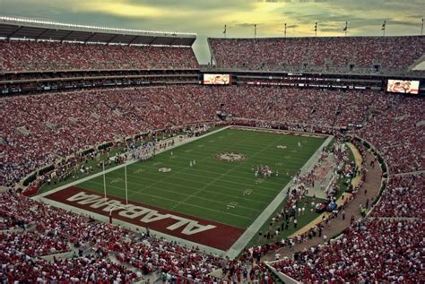 Bryant-Denny Stadium - Alabama Crimson Tide Football