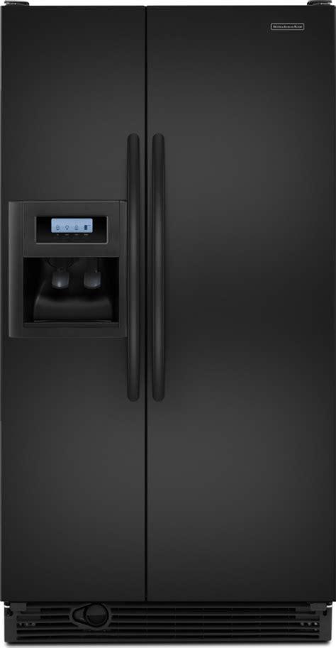kitchenaid ksrvfvbl  cu ft side  side refrigerator   adjustable spillproof