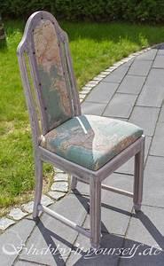 Shabby Chic Stühle : shabby chic polsterstuhl tolle anleitung zum beziehen maps st hle polster polsterstuhl ~ Orissabook.com Haus und Dekorationen